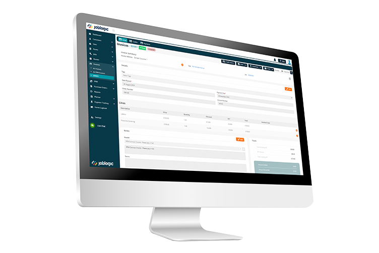 Electrical Contractor Invoicing Software