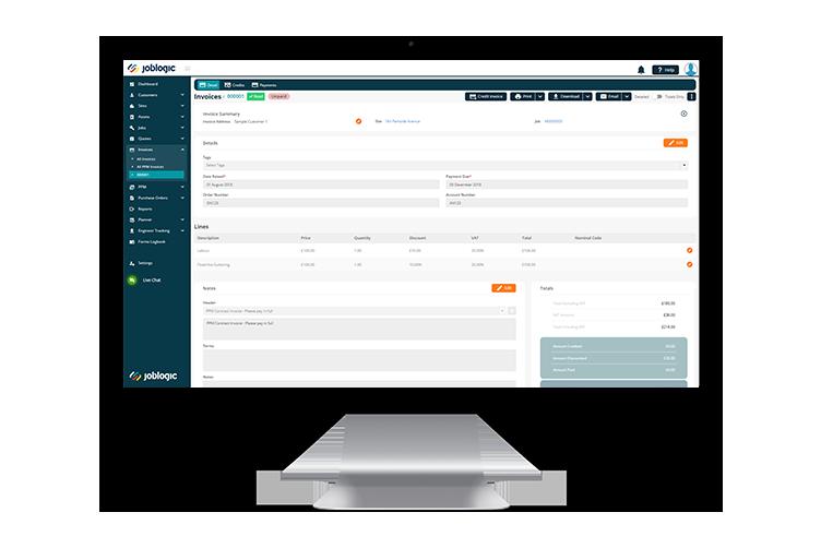 HVAC Accounting Software - Joblogic