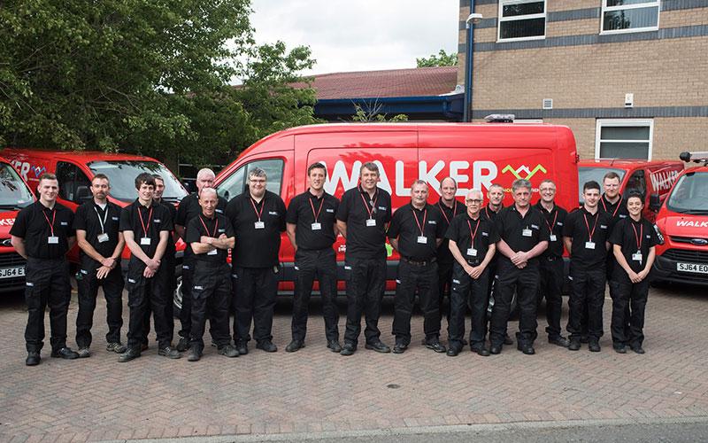 Walker Gas team photo