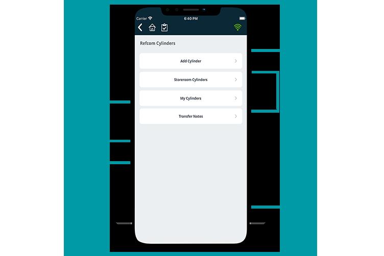 F Gas Mobile App