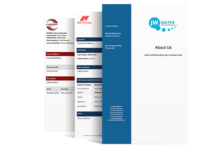 Field Service Quoting Templates
