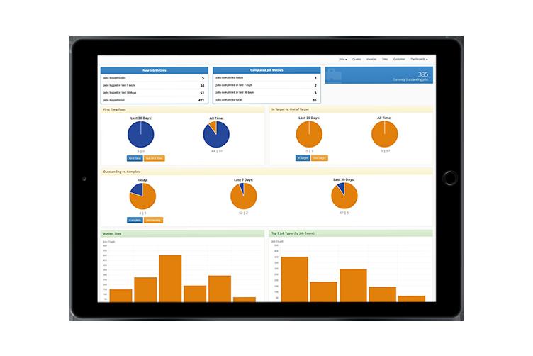 HVAC Software - Customer Portal