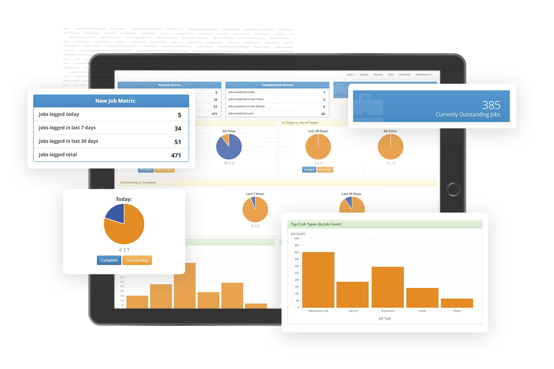 Dashboard Reporting Software