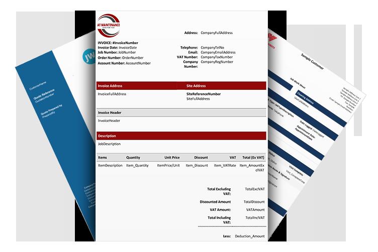 Field Service Invoicing Templates