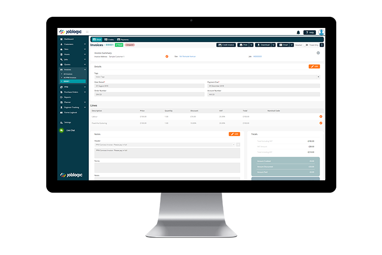 HVAC Software - Account Integration