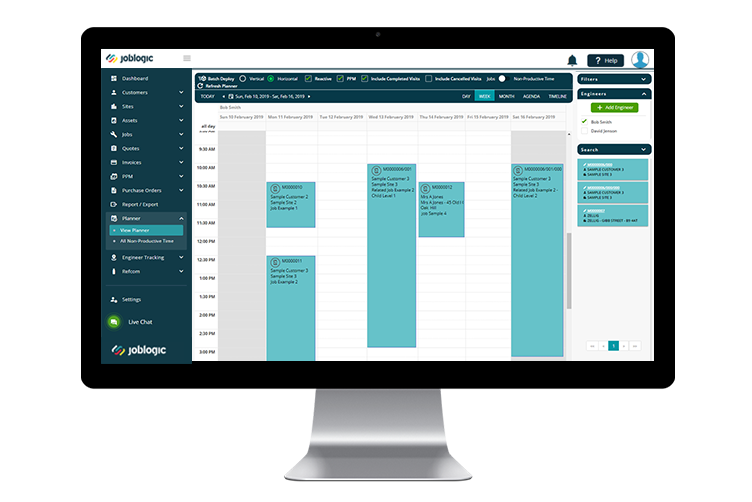FM Software - Resource Scheduling