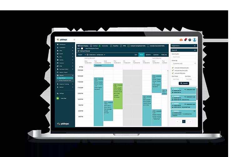 Job Scheduling - Joblogic Mobile App