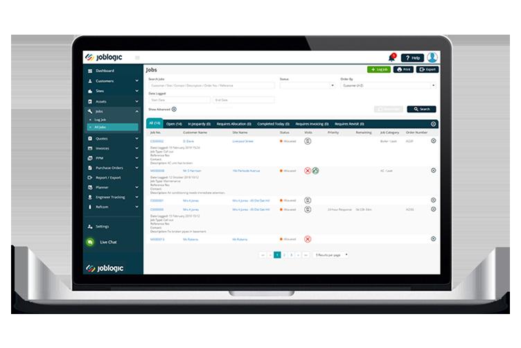 Scheduling Software - Joblogic