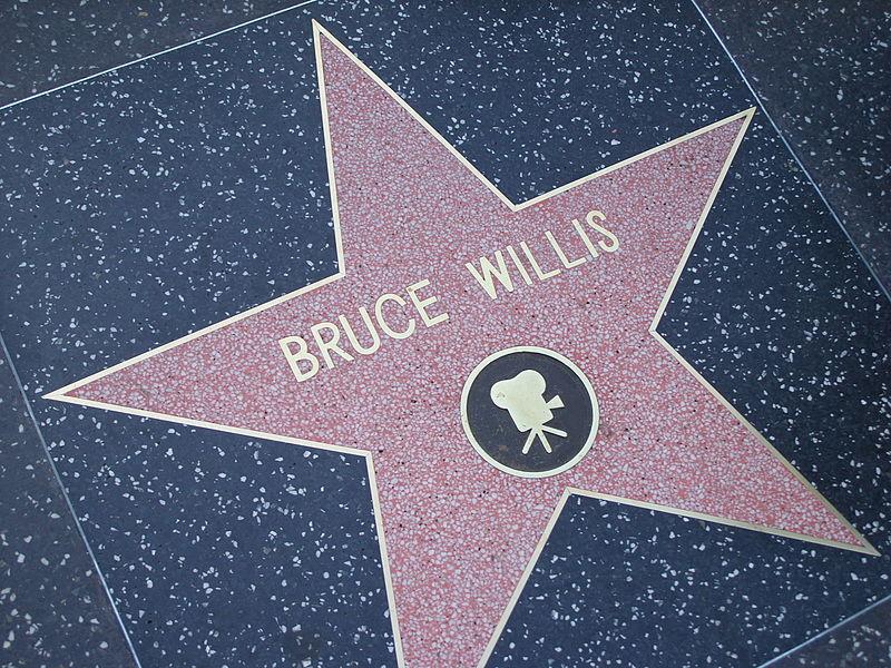 Walk of fame Bruce Willis