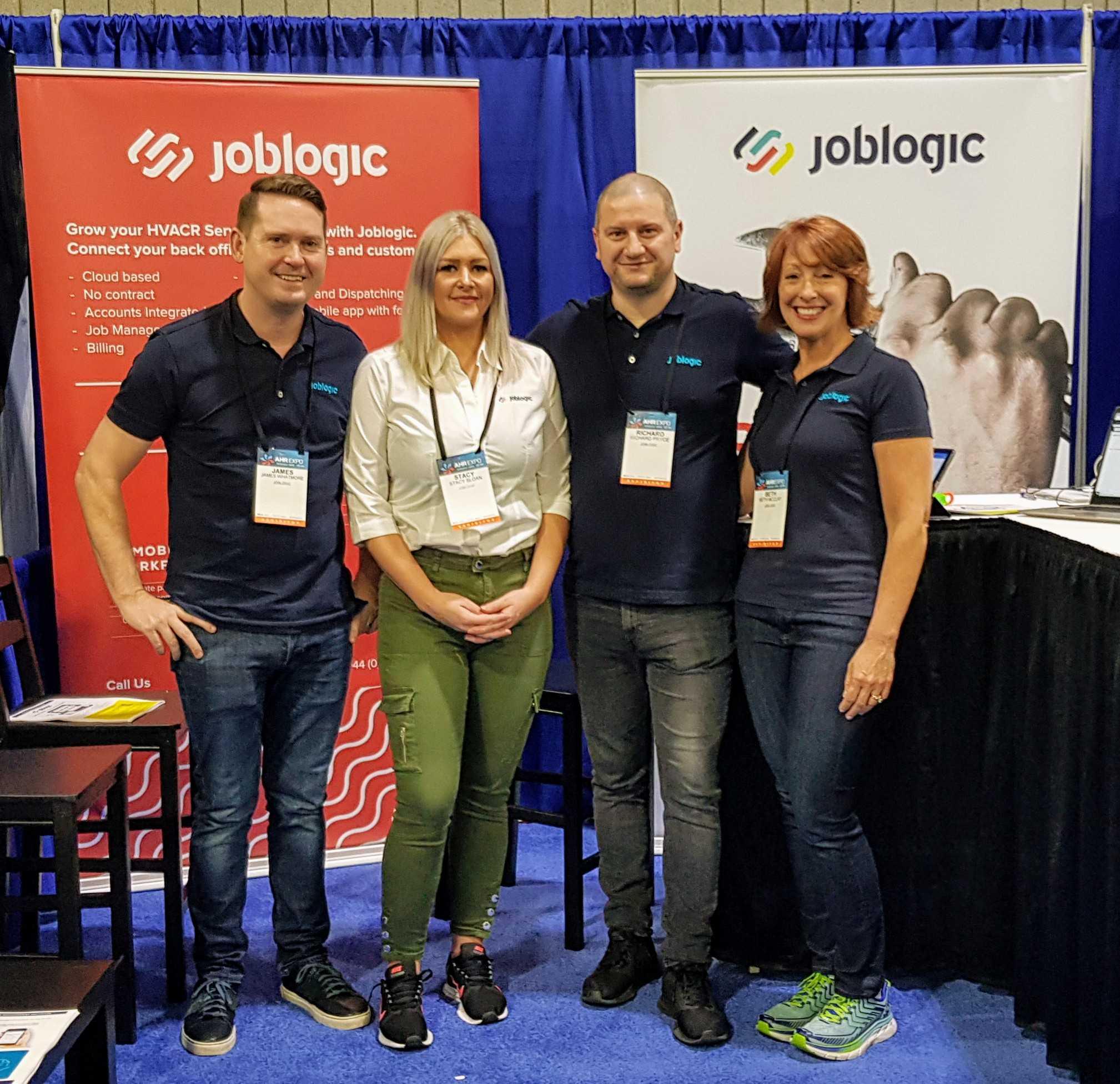 Joblogic Team at the AHR Expo 2019