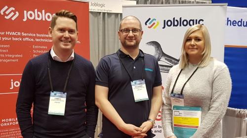 Joblogic team at the AHR Expo 2018
