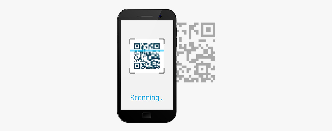 Joblogic QR Code app on Mobile