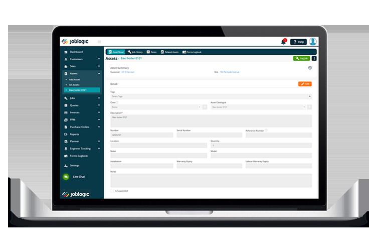Facilities Asset Management Software - Joblogic