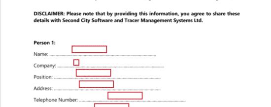 Escrow Contact Info
