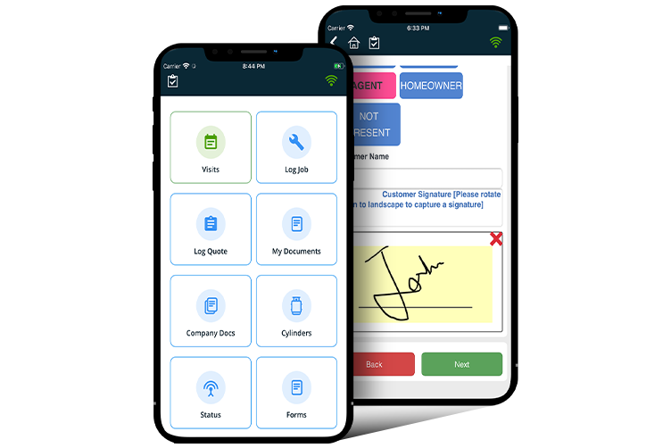 App for Gas Certificates