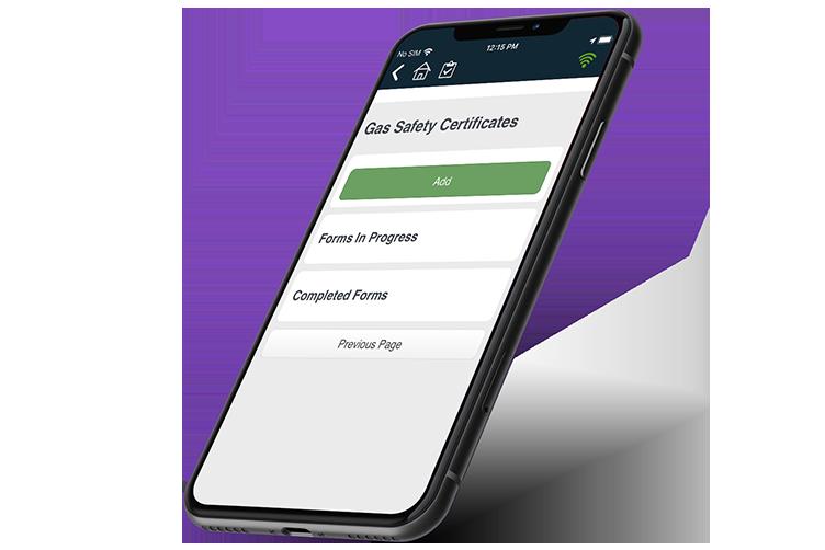 Gas Certificate App