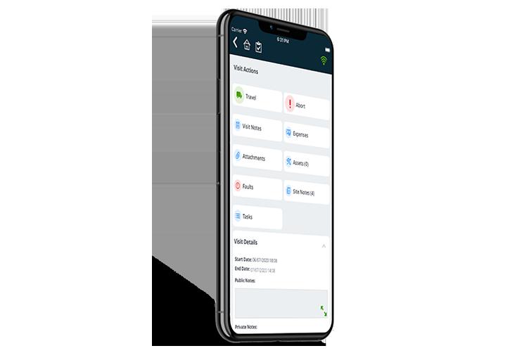 Mobile CAFM Software