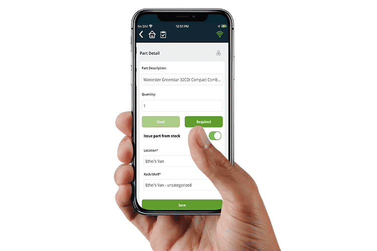 Stock Control App