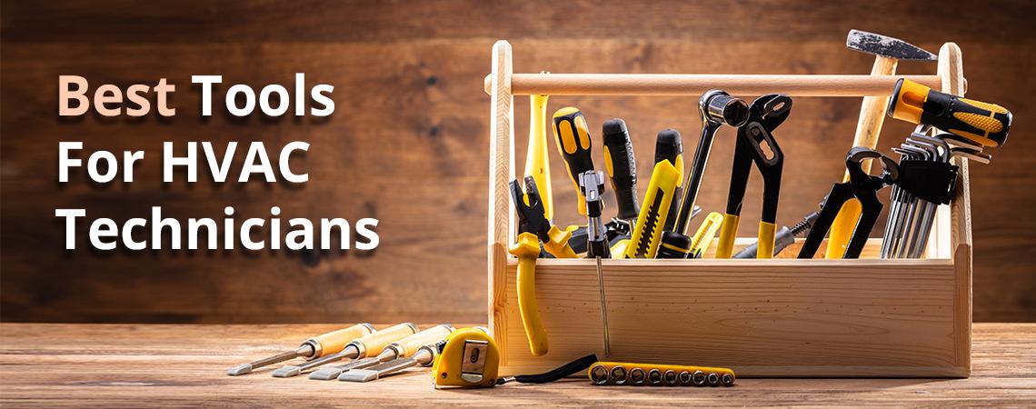 Tools for HVAC technicians