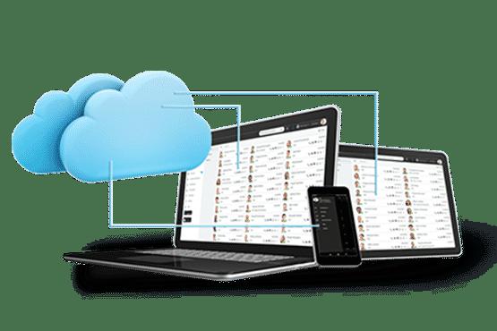 voip-cloud-network