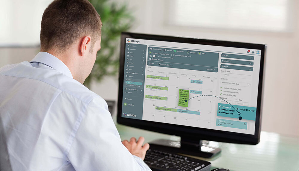 Improve Service Call Scheduling with Software