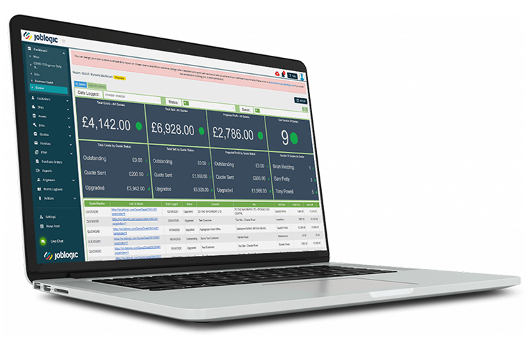 Service management software